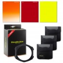 Kit Filtre carré couleur (Sunset/Rouge/Jaune/Support)