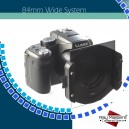 Ray Masters P001 84mm System Holder, 3 filters slots, aluminium body