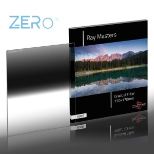 Ray Masters PL170-ND8R Square GND Camera Filter, 150x170mm, Reverse Grad, 3 stops ZERO